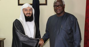 President Koroma hosts Mufti Menk at State House