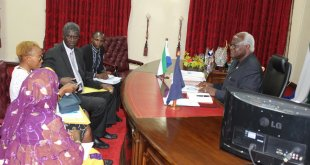 Police Complaints Board presents annual report to President Koroma