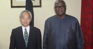 Japanese ambassador pays courtesy on President Koroma