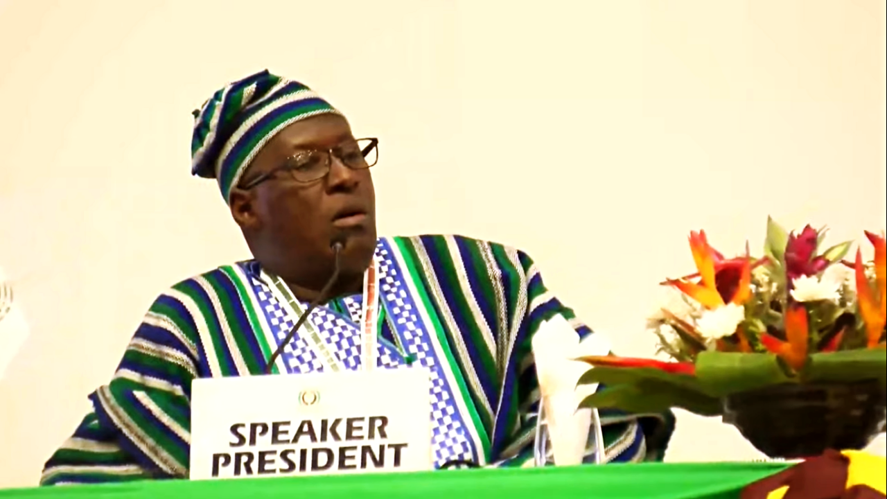 Hon. Sidi Tunis Becomes Speaker of ECOWAS Parliament - Sierra Network